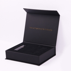 Black Gift Box Custom